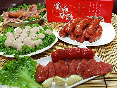 彰化大城鄉特產明仙鴨肉食品